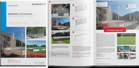 Katalog Spielfelder