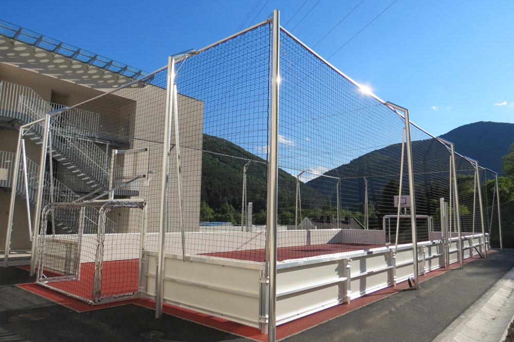 Soccer Court Comfort Line Alu