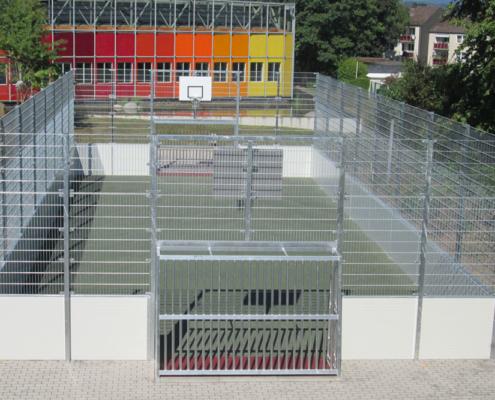 Soccer Court Comfort Line Stahl