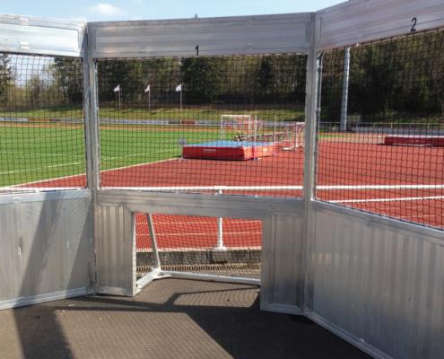 Soccer Cage Aluminium