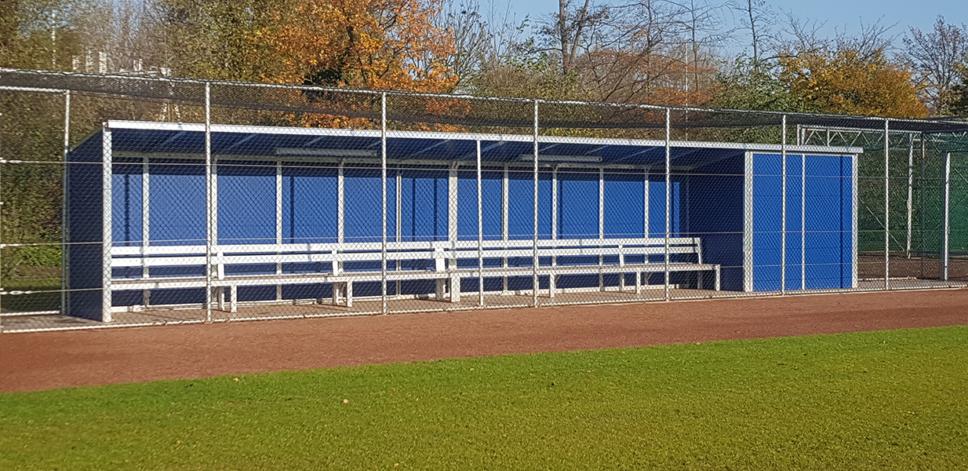 Baseballkabine