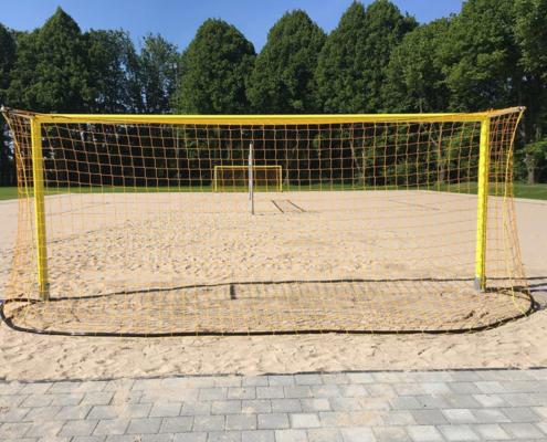 Beach-Sportanlage für die Sportschule Schöneck