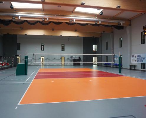 Volleyballanlage